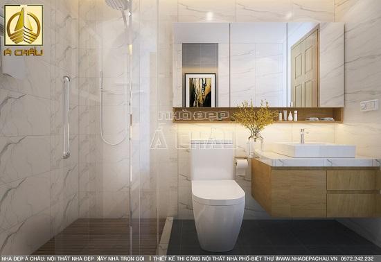 thiết kế nhà tắm tiện nghi hiện đại