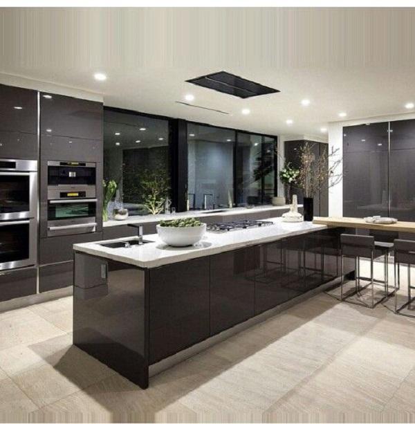 thiết kế phòng bếp phong thủy