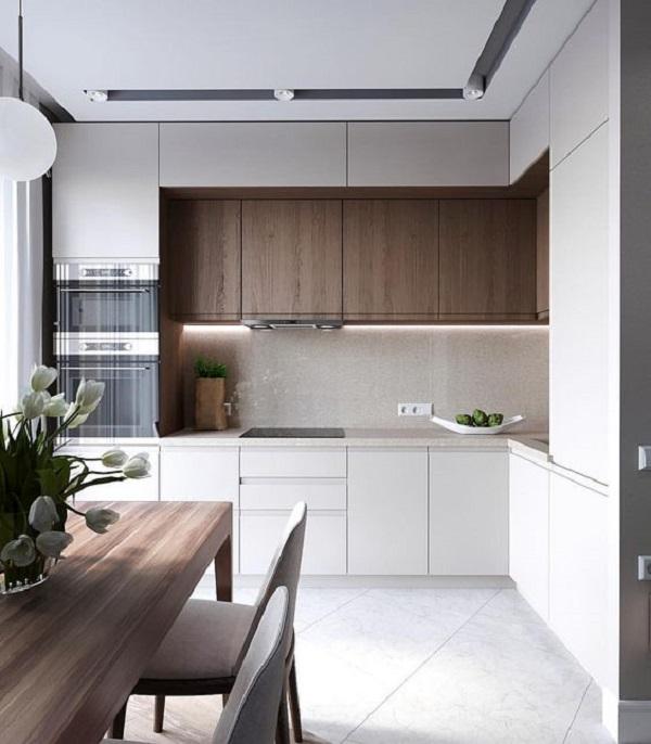 Thiết kế nội thất phòng bếp phong thủy